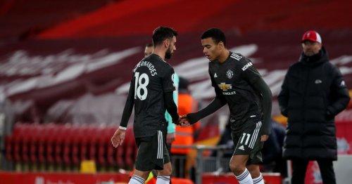 Mason Greenwood coach thinks he deserves Bruno Fernandes role at Man United