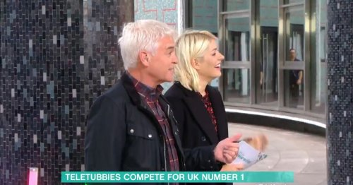Holly Willoughby announces she's related to EastEnders legend