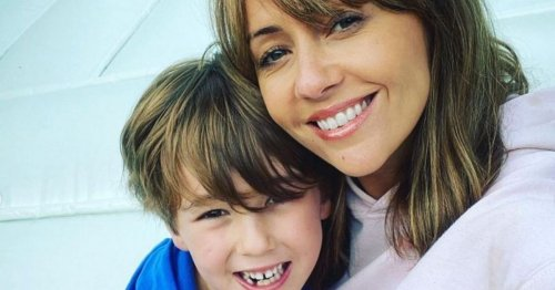 Corrie's Samia Longchambon shares emotional throwback of son with soap legend