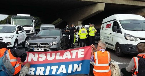 Where are the protesters on the M25? Insulate Britain storm road