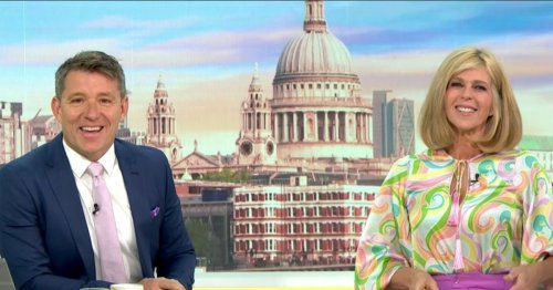 Kate Garraway forced to laugh off jibes from GMB co-stars over her outfit