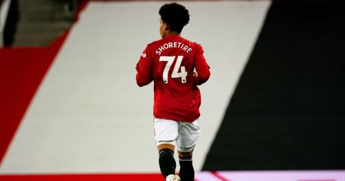 Manchester United coaching staff are doing the right thing with Shola Shoretire