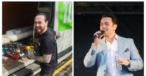 Ray Quinn on working as a carpet fitter in the pandemic after gigs cancelled