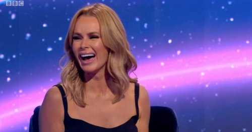 Amanda Holden leaves fans floored as she poses with 'model' daughters