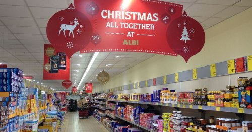 Aldi praised by shoppers for kind gesture to those who didn't see family at Xmas