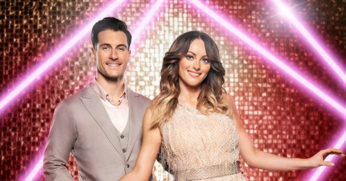 Gemma Atkinsons reacts as Gorka paired with Katie McGlynn on Strictly