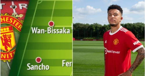 Three ways that Manchester United could line up after Jadon Sancho arrival