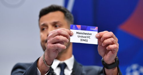 Man United's possible opponents in this season's Champions League group stage