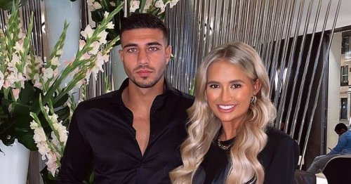 Molly-Mae Hague and Tommy Fury 'disgustingly in love' with loved-up messages