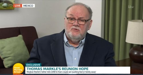 GMB swamped with criticism over Thomas Markle interview