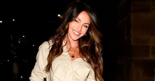 Michelle Keegan celebrates birthday with girls night out in Manchester
