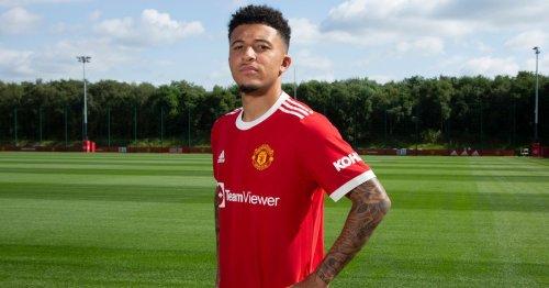 Jadon Sancho among seven Man United players due for pre-season training return