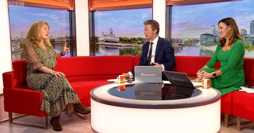 Corrie's Sally Ann 'tells off' BBC Breakfast's Charlie Stayt over questioning