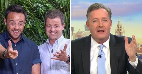 Ant and Dec issue brutal swipe at Piers Morgan over I'm A Celebrity 2021