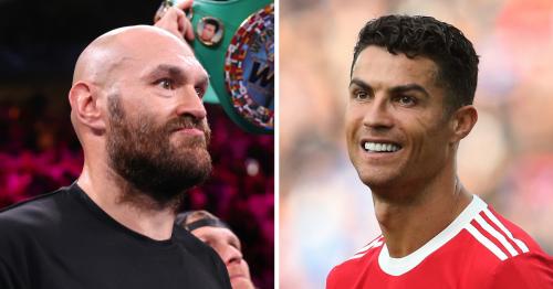 Tyson Fury told Old Trafford fight won't happen after Ronaldo warning