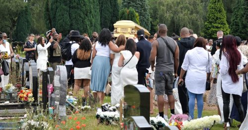 Hundreds pay their respects at funeral of murdered dad found dead on moors