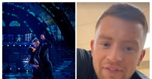Adam Peaty and Katya Jones 'warned backstage' after Strictly kiss controversy