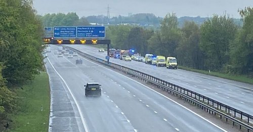 Woman, 33, dies following crash on M66 motorway near Bury