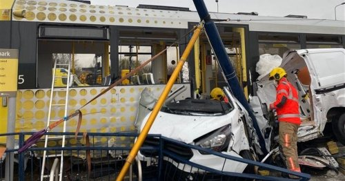 TfGM releases videos of tram crashes to encourage driver awareness