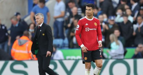 Solskjaer loses nerve with big-name Manchester United players at Leicester
