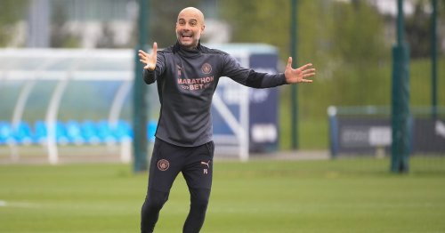 Guardiola is already making Champions League final decisions
