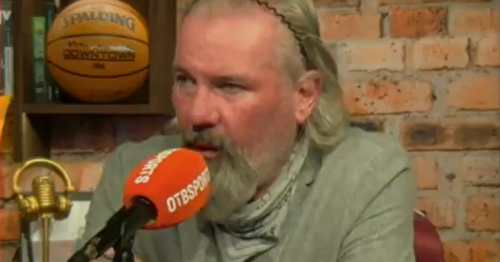 Brian McClair discusses Gary Pallister hairdryer over Gary Neville's long throw