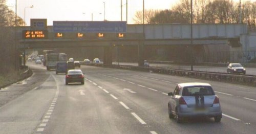 LIVE All traffic blocked on M56 after 'multi-vehicle crash' - latest updates