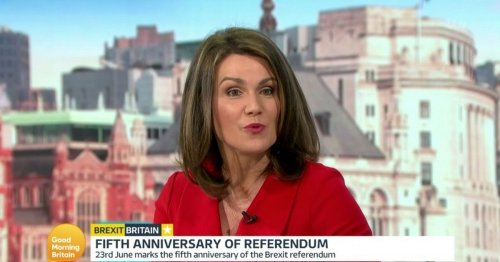 GMB viewers horrified as Susanna Reid blurts out 's***' live on air