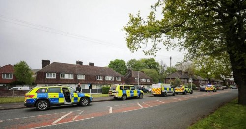 Armed police swoop on house in Manchester