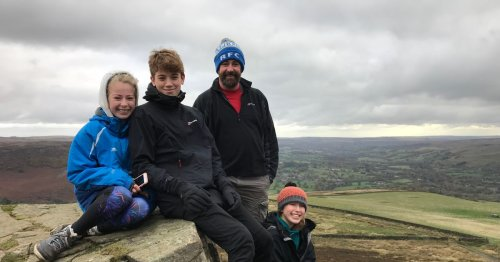 Dad-of-three diagnosed with incurable brain tumour