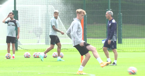 City training squad for Blackpool game revealed plus more spotted in training