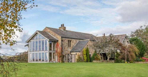 Stunning Lancashire farmhouse and barn conversion could be yours for £1.5m