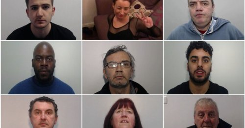 Locked up so far in April: The criminals jailed in Greater Manchester this month