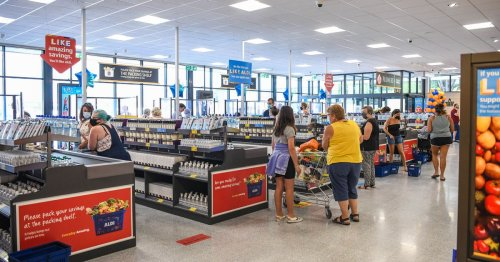 Aldi shopper amazed by what 'queue jumper' did when he reached till