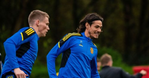 Four things spotted in Manchester United training as Cavani and Fred return