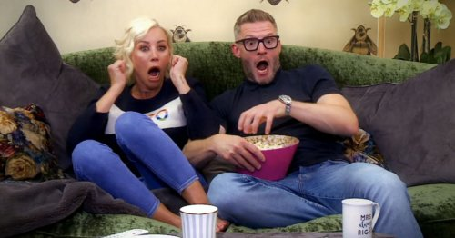 Celebrity Gogglebox's Denise Van Outen says filming looks like a 'massive party'