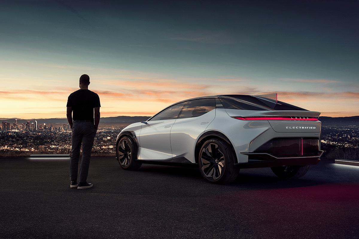 7. Lexus Unveils All-Electric 'LF-Z Electrified' Concept