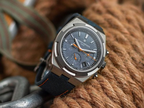 Vacheron Constantin Tackles the Peak with Overseas 'Everest' Chronograph