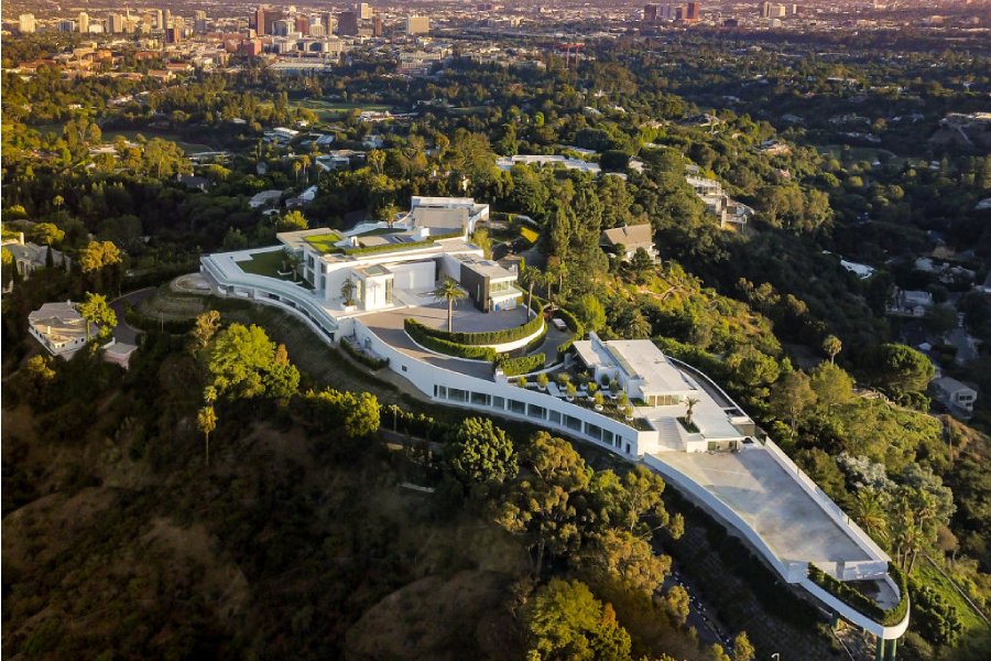Inside the $580 Million Bel Air Mansion - Most Expensive House in America?