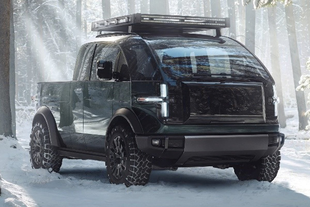 6. Canoo's Electric Pickup Truck is Ready for the Weekend