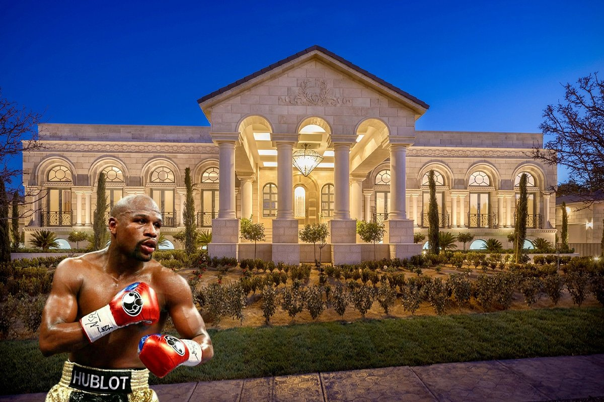 Inside Floyd Mayweather's Ridiculous $10 Million Mansion w/ Vineyard