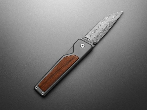 James Brand Goes Back to Nature with Rosewood and Damasteel Collection