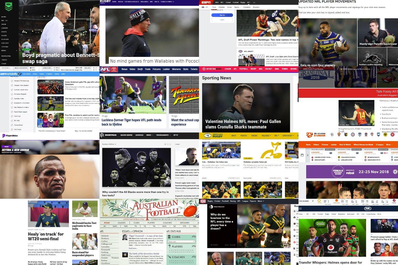 18 Best Australian Sports Websites