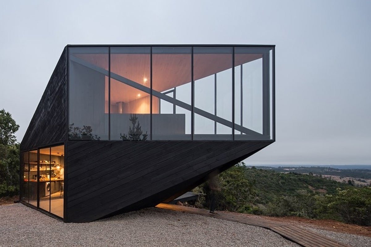 Casa Pre Barco is an Architectural Rendition of a Ship on Dry Land