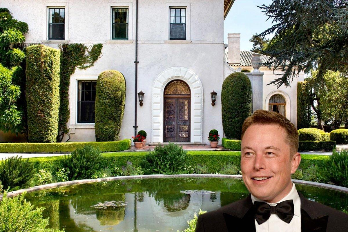 Inside the $50 Million Mega Mansion Elon Musk is Selling