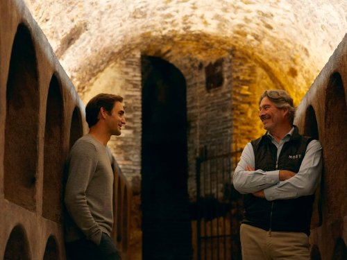 Roger Federer Uncorks a History of Champagne in Moët & Chandon's 'Through The Eyes Of'