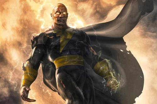 'The Rock' Shows His Dark Side in the New Black Adam Teaser Trailer