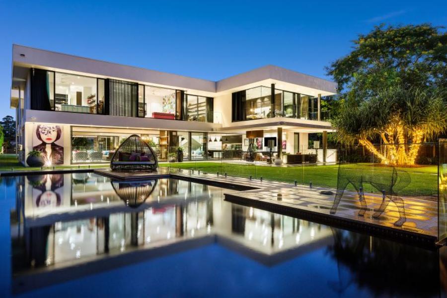 Inside Aussie Motor Racing Legend's $12 Million Queensland Estate