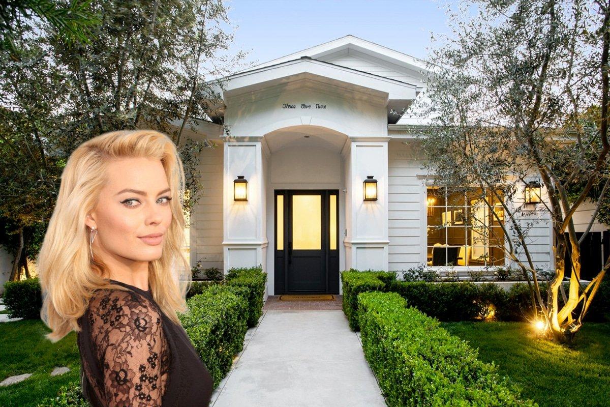 Inside Margot Robbie's $4.5 Million LA Mansion