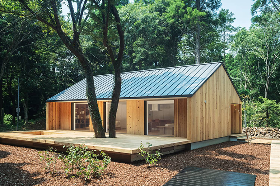 Get Your DIY On With This Flat-Pack House From MUJI